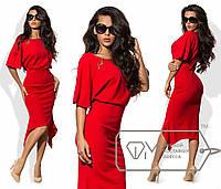 Шикарное женское платье ткань *Креп-Трикотаж* 42, 46, 48 размер норма