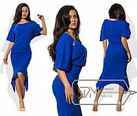 Шикарное женское платье ткань *Креп-Трикотаж* 42, 44, 46, 48 размер норма