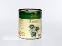 Консервированный корм для собак. Hubertus Gold. Ягненок и рис 800гр