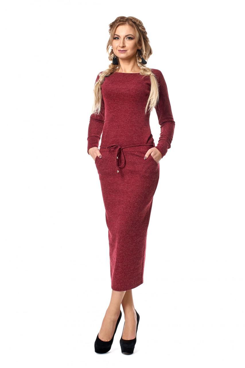 be93bd85bd577b6 Стильное молодежное платье из ангоры на каждый день - Оптово-розничный  магазин одежды