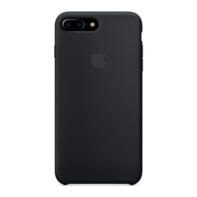 Чехол Apple силиконовый для iPhone 8+/7+ Black (MMQR2ZM/A)