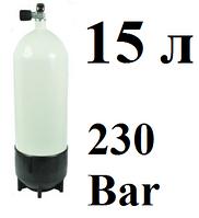Баллон для дайвинга 15 литров Vitkovice; 230 Bar