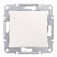 Sedna Выключатель 1-кл. крем SDN0100123