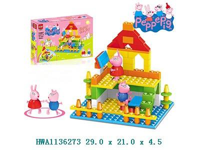 Консруктор Peppa Pig 34007 будівля