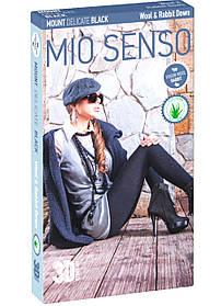 "Колготки Mio Senso ""MOUNT DELICATE BLACK /Wool & R.d."" natural black, size 4 (4780) | 2 шт."