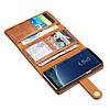 Чехол книжка для Samsung Galaxy S8 Plus G955 боковой с отсеком для визиток 2-в-1, DG.MING, коричневый, фото 9