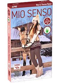 "Колготки Mio Senso ""Alpina ave Wool & Rabbit down"" natural black, size 4 (4872) | 2 шт."