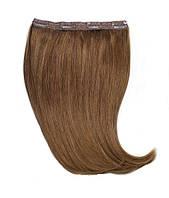 Волосы на заколках 60 см. Цвет #06 Каштановый, фото 1