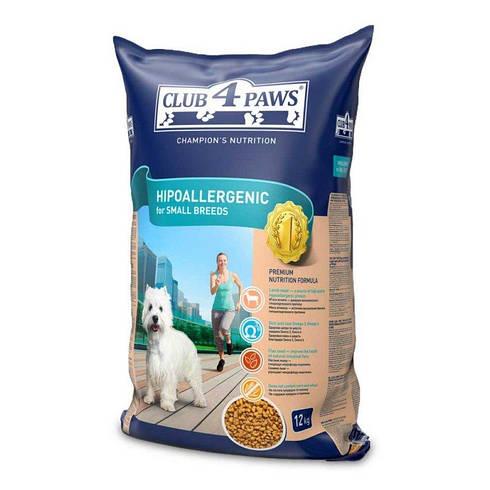 Сухой корм Клуб 4 лапы гипоаллергенный малых пород с ягненком для собак 12  КГ 1d1a2f1bac54c