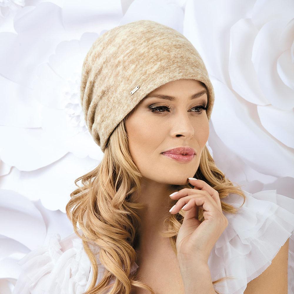 Жіноча модна шапка Rafi Willi з вовняного трикотажу
