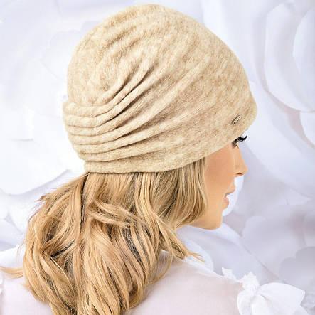 Женская модная шапка Rafi Willi из шерстяного трикотажа, фото 2