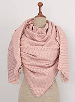 Двусторонний розовый шарф SZ-FA1192