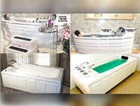 Ванна физиотерапевтические для бальнеопроцедур Мод. L-105 VIP JUMBO
