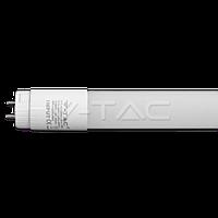 Світлодіодна лампа V-TAC 10Вт T8 G13 60см 6400К нанопластик