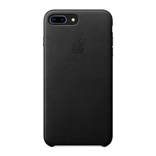 Чехол Apple кожаный для iPhone 8+/7+ Black (MQHM2ZM/A)