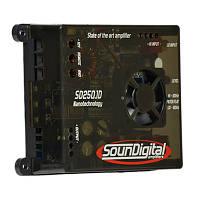 Автомобільний підсилювач SD250.1D