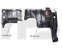 Пластиковая защита двигателя левая FPS