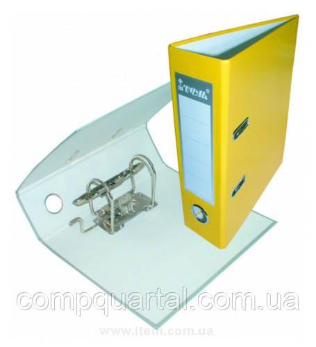 Папка-реєстратор А5 70мм ITEM054/08 жовта
