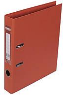 Папка-реєстратор А4 50мм BUROMAX 3002-11 ELITE двостороння помаранчева
