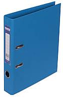 Папка-реєстратор А4 50мм BUROMAX 3002-30 ELITE двостороння світло-синя
