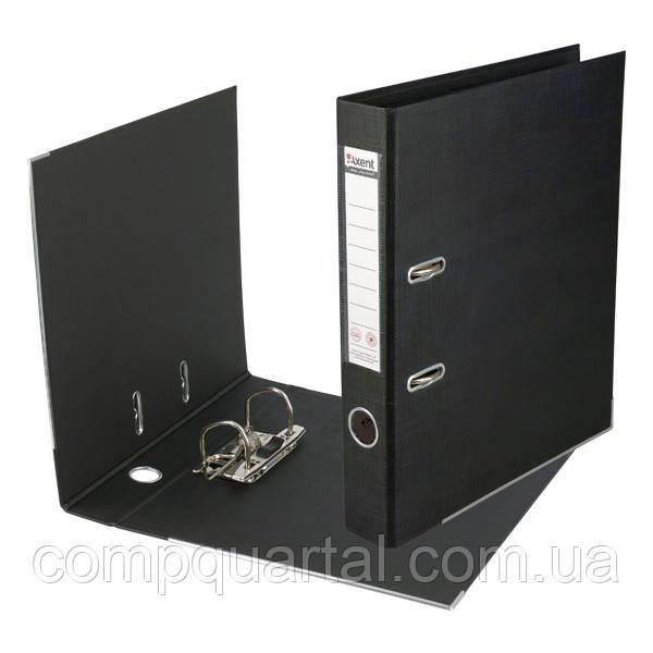 Папка-реєстратор А4 50мм AXENT Prestige 1711-01 двостороння  чорна