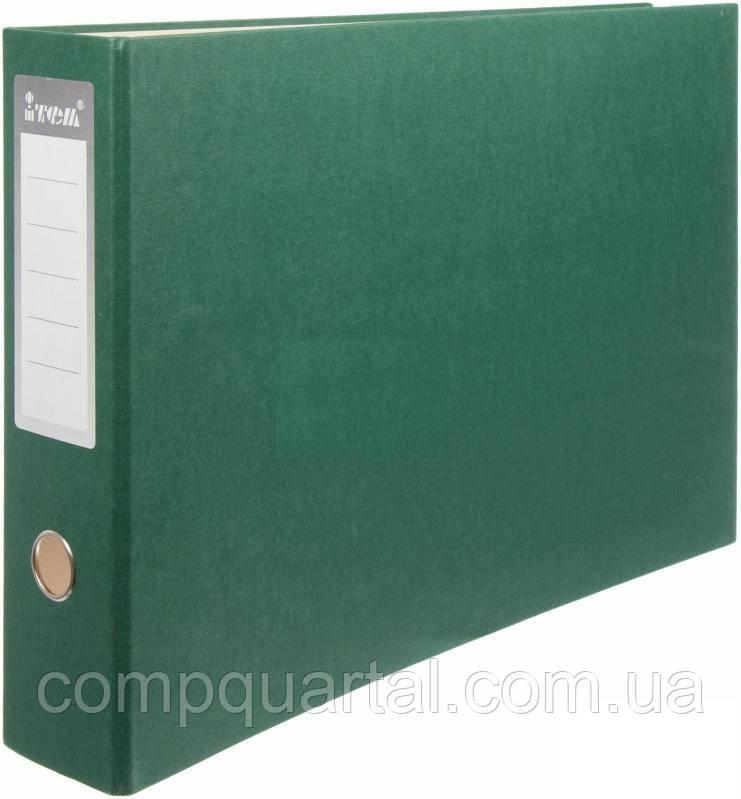 Папка-реєстратор А3 70мм ITEM 020/06 горизонтальна зелена