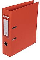 Папка-реєстратор А4 70мм BUROMAX 3001-11 ELITE двостороння помаранчева
