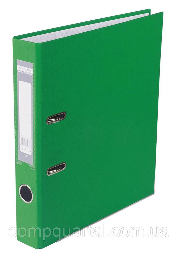 Папка-реєстратор А4 50мм BUROMAX 3012-04 зелена