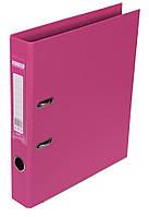 Папка-реєстратор А4 50мм BUROMAX 3002-10 ELITE двостороння рожева