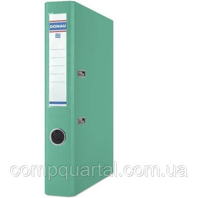 Папка-реєстратор А4 50мм DONAU Master 3950001M-24 бірюзова