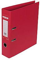 Папка-реєстратор А4 70мм BUROMAX 3001-05 ELITE двостороння червона