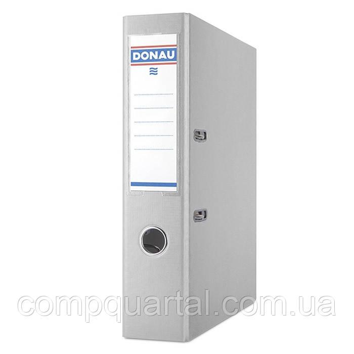 Папка-реєстратор А4 70мм DONAU Premium 3975001-13 сіра