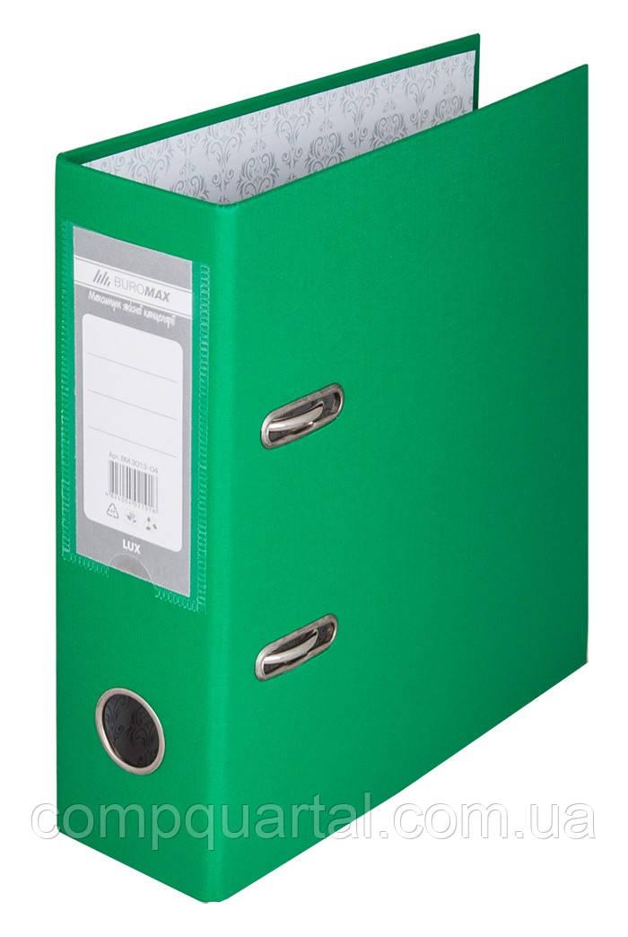 Папка-реєстратор А5 70мм BUROMAX 3013-04 зелена