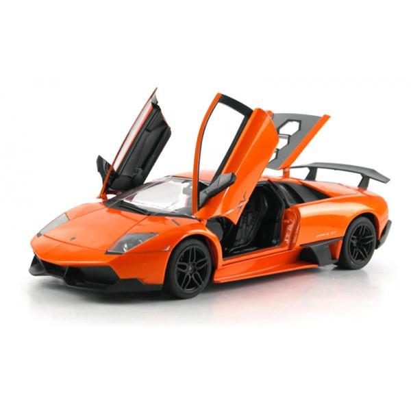 Машинка радиоуправляемая 1:18 Meizhi Lamborghini LP670-4 SV (оранжевый)