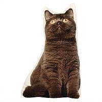 Creative 3D милые животные кошка собака форма бросить подушку плюшевые мягкие диван автомобиль офис подушки подарок