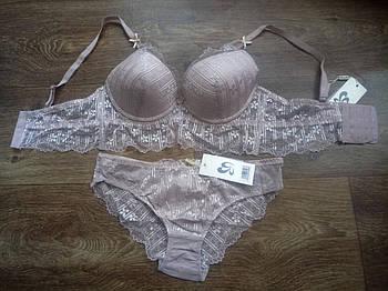 Женский комплект нижнего белья с бюстье Weiyesi С - 80