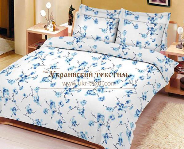 Комплект постільної білизни Сакура блакитна