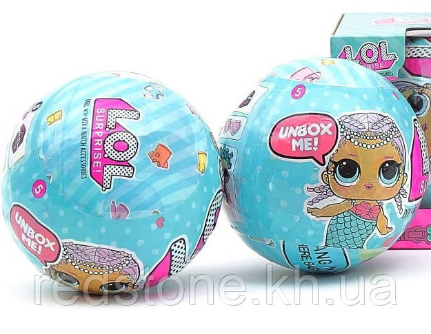Кукла L.O.L ЛОЛ с аксессуарами, сюрприз в шарике