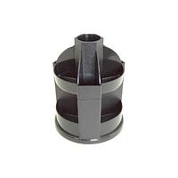 Органайзер настольный ПНВ-1м пластиковый, вращающийся (металлик)