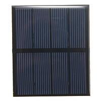 2v 0.6W 300mA 82x70x3.0mm поликристаллического кремния панели солнечных батарей эпоксидной смолы