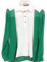 Шифоновые женские блузы (в расцветках 44-48), фото 1