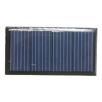 2v 0.18w 90ma 58.5x30.5x3.0mm поликристаллического кремния панели солнечных батарей эпоксидной смолы