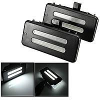 Универсальная 1 пара 12v зеркало козырек LED свет лампа BMW e60 e90 e70 e71 E84 F25