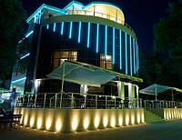 Подсветка фасадов зданий (локальное освещение)