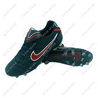 Бутсы (копы) Nike Tiempo U007T-2 (р-р 40-44, темно-синий)