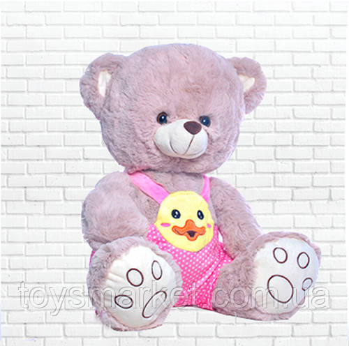 Мягкая игрушка мишка Матвейка (в розовом)