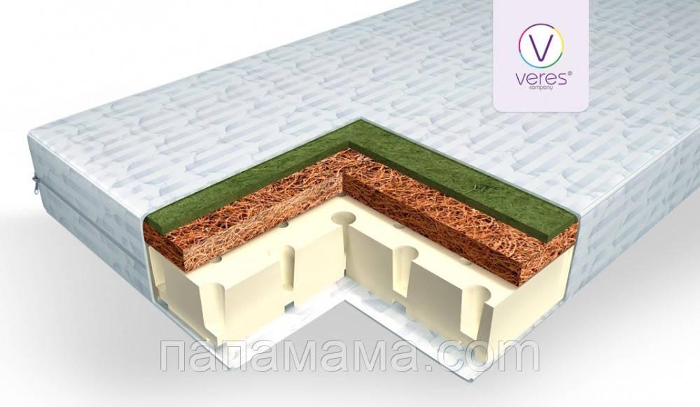 Матрас Veres Latex Lux 10 cm белый