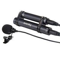 Aputure a.lav портативный мини 3.5мм галстук петличный воротник клип микрофон для записи пера планшета телефона