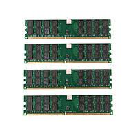 4 шт 4 Гб DDR2 800 МГц PC2-6400 240 булавки настольных ПК AMD памяти материнской платы