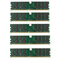 5 шт 4gb DDR2 800МГц PC2-6400 240 булавки настольных ПК AMD памяти материнской платы